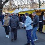 Résistance Helvétique présent aux côtés des Démocrates Suisses au marché de Genève.
