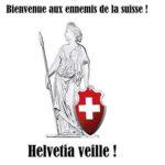 Dame Helvétia est une allégorie représentant la Confédération Suisse.