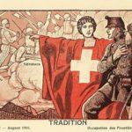 Citation de Gonzague de Reynold sur l'armée suisse.