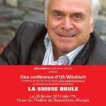 Conférence d'Uli Windisch (LesObservateurs.ch) le 26 février 2017
