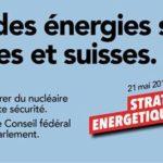 OUI le 21 mai à la stratégie énergétique 2050 !