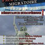 Conférence «Résistance Européenne» le 17.12.2017