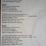 Marie Henchoz : Jacques Prévert remplacé, lui aussi !