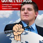 Conférence d'Alexandre Gabriac le 31.08.2018 à Aigle