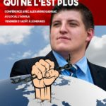 Alexandre Gabriac était l'invité de Résistance Helvétique ce 31.08.2018
