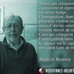 Citation de Alain de Benoist