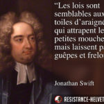 Citation de Jonathan Swift